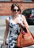 Actress Paula Lane arrives at the Granada Studios...