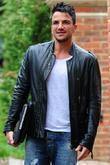Peter Andre out and about in Surrey with...
