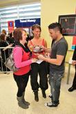 Peter Andre and some female fans