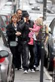 Peter Andre heads to Topolinos restaurant with his...