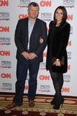 Adrian Chiles, Christine Bleakley, CNN and Piers Morgan