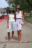 Designer Rachel Roy and Rachel Roy