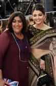 Aishwarya Rai and Gurinder Chadha