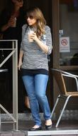 Pregnant Rachel Stevens