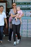 Rebecca Gayheart seen leaving Bristol Farms super market...