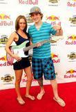 Kelly McCartney and BMX athlete Anthony Napolitan The...