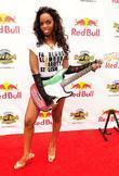 Singer Keisha Kash The Red Bull Pool party...