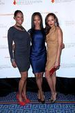 Shontelle, Dana Reeve and Selita Ebanks