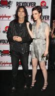 Alice Cooper and daughter Calico Cooper Revolver Golden...
