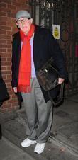 Richard Wilson Seen Leaving The Duke Of York's Theatre