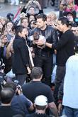 Courtney Laine Mazza, Mario Lopez and Ricky Martin