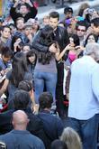 Courtney Laine Mazza and Ricky Martin