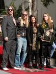 Barbara Orbison (2nd R), Wife Of...