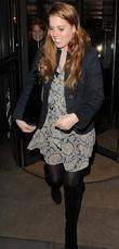 Princess Beatrice Leaving Cipriani Restaurant