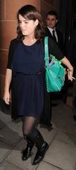 Princess Eugenie leaving Cipriani restaurant