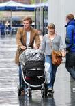 Rupert Hill and Jenny Platt Out Shopping In Spinningfield