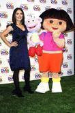 Salma Hayek and Dora The Explorer