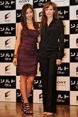 Angelina Jolie and Actress Meisa Kuroki