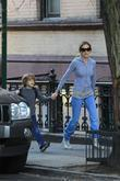 Sarah Jessica Parker  walking her son James...