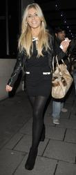 Mollie King from girl group 'The Saturdays' leaving...
