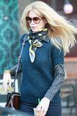 Claudia Schiffer leaving Starbucks after dropping her daughter...