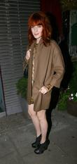 Florence Welch celebrities leaving the after party for...