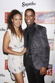 Tracie Thoms and Rodney Hicks Opening night after...