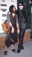 Twiggy and Marilyn Manson