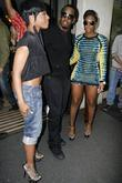 Sean Combs, Aka P Diddy, Dawn Richard and Kalenna Harper Of Diddy-dirty Money Leaving The May Fair Hotel