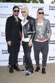Tomo Milicevic, Jared Leto and Shannon Leto of...