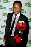 John Legend and Elmo
