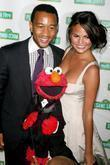 John Legend, Elmo, Christine Teigen