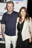 Aidan Quinn and Elizabeth Bracco The Public Theater's...