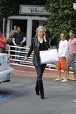 Shanna Moakler leaving Fred Segal in West Hollywood after a spot of shopping