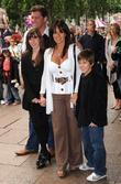 Linda Lusardi and family Shrek Forever After -...