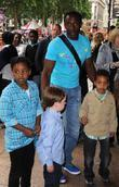 Linford Christie and Family