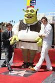 Shrek and Antonio Banderas