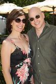 Evan Handler and his wife Elisa Atti