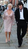 Denise Welch and Simon Gregson