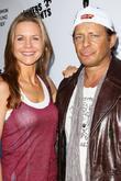 Josie Davis and Costas Mandylor