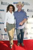 Tamara Tunie and Christopher Meloni