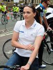 Olympic gold medallist Victoria Pendleton