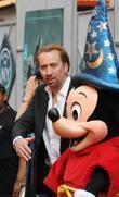 Nicolas Cage and Mickey Mouse