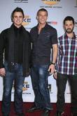Darin Brooks, Alan Ritchson and Chris 'Romanski' Romano