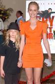 Auden Mccaw and Amber Valletta World Premiere of...
