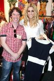 Stacey Solomon and Nick Boyle shopping during the Xpose Live fashion event at the RDS