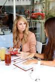 Stacy Keibler Meets Up With Friends At Jack N Jills Too For Lunch After Shopping At Kitson On Robertson Boulevard