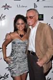 Kat Deluna and Stan Lee