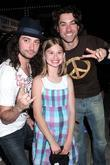 Constantine Maroulis, Hailey Saraney and Ace Young