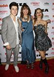 David Henrie, Illeana Douglas and Justine Bateman
